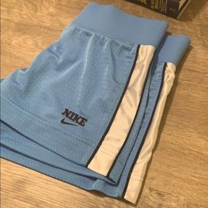 Blue NIKE Mesh Shorts